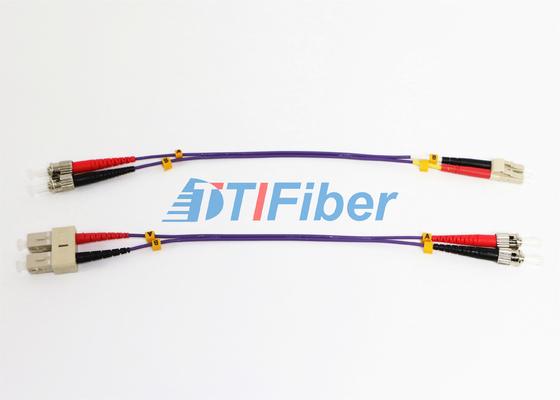 ST UPC LWL-Patchkabel OM2 62.5 Mit ROHS Optischer Kabel-Faseroptik-Jumper