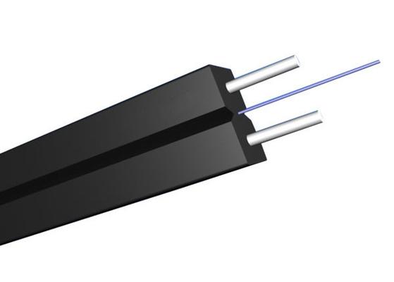 Innen-Singlemode GJYXCH FTTH flaches Transceiverkabel mit Glasfaser G657A2
