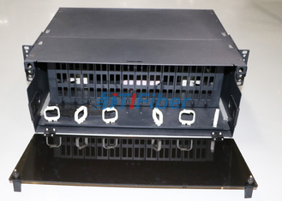 4U verschiebbare Glasfaser-Patch-Panel für MTP / MPO Faserkassetten-Modul