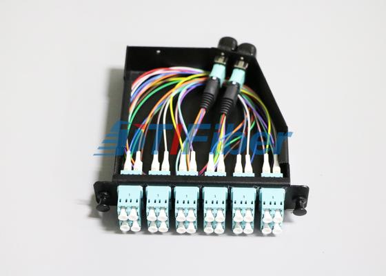 24 Kern OM4 MTP/MPO-Faser-Optikverbindungskabel für MPO-Kassetten