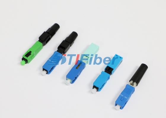 FC ST LC LWL-Steckverbinder für FTTH-Netze mit hoher Einfügungsdämpfung