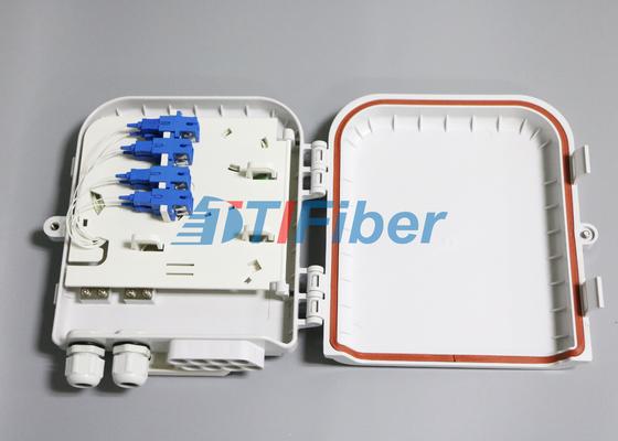 SC 8 Port Wasserdichte Glasfaser Verteilerkasten für FTTH Netzwerke